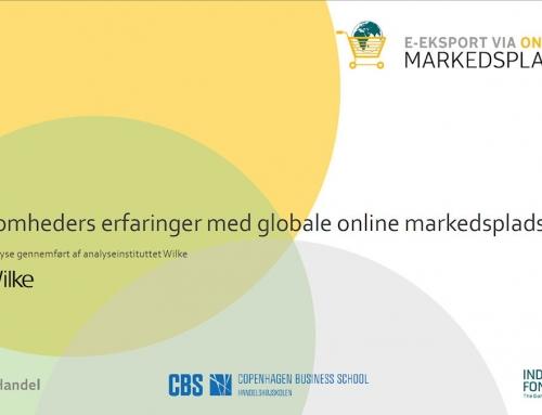 Virksomhedernes erfaringer med salg via online markedspladser